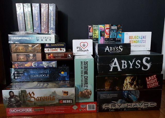 Wyprzedaż gier! Abyss, Odjechane jednorożce, Innowacje i inne. WARTO