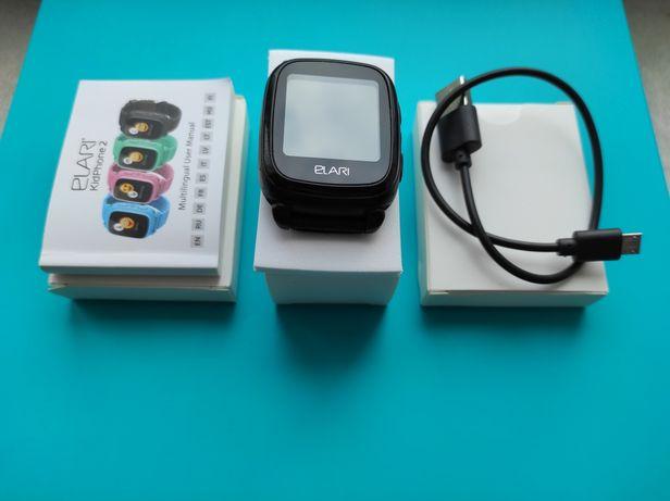 Смарт-часы Elari Kidphone  Black чёрные