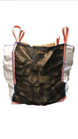 Big bag bigbagi raszlowe na ziemniaki drewno 90/99/90 cm