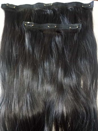 Vendo extensões de cabelo natural