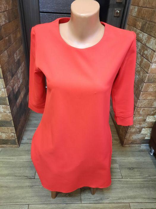 Сукня червона,вільного крою р.38 Кропивницкий - изображение 1