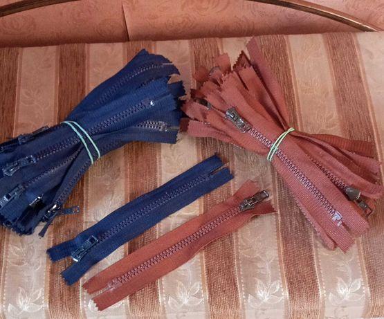 Змейка 15 см коричневая и синяя