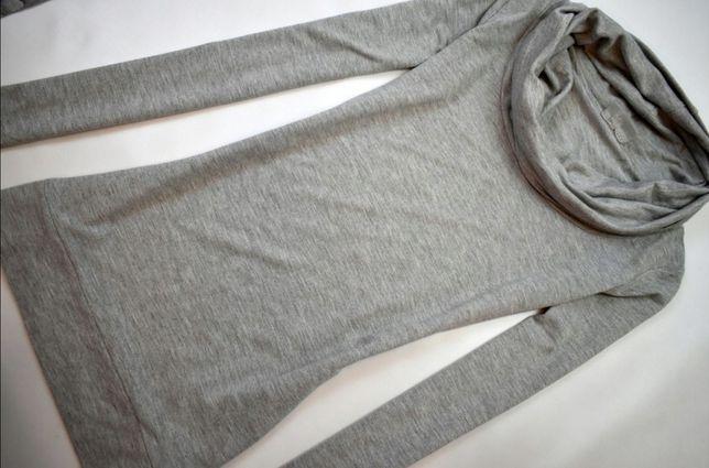 Melanżowa bluzka z golfem roz. XS