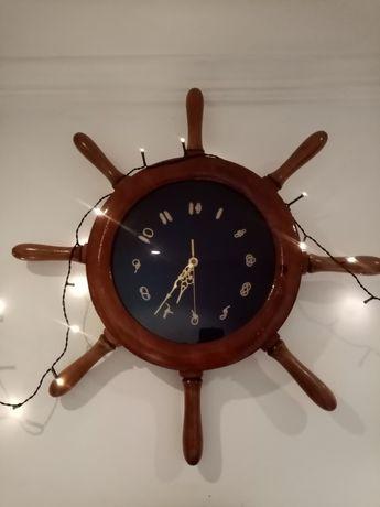 Relógio leme nautico