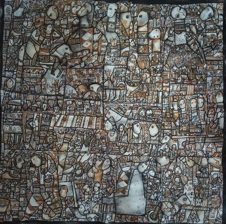 Большая интерьерная картина, 100х100