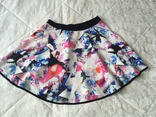 VILA spódniczka kolorowa wiosenna r M