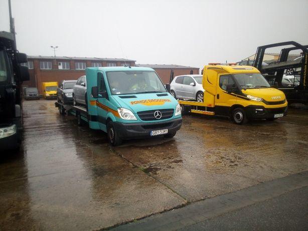 pomoc drogowa,Transport samochodów ,ładunków,laweta,licencja ocp