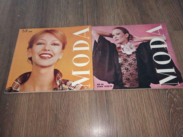 Gazeta Moda Nr.96 zima 78/79 i Nr.98 Lato 79
