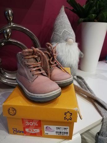 Baren Schuhe buciki skórzane rozmiar 23