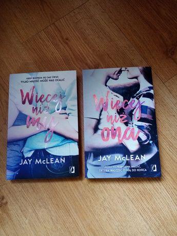 Jay McLean - Więcej niż my. Więcej niż ona.