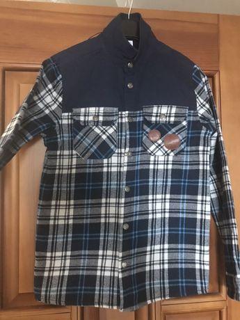Продам тёплую рубашку для мальчика.Фирма Cool club