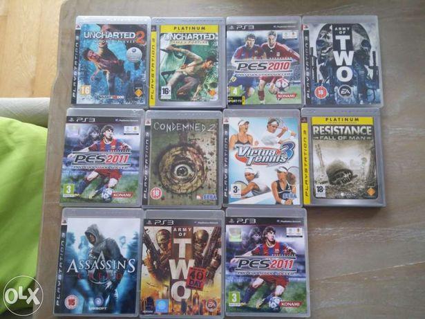 Vendo vários jogos PS3