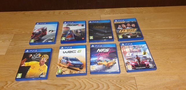 6 jogos PS4 originais (vendo também em separado)