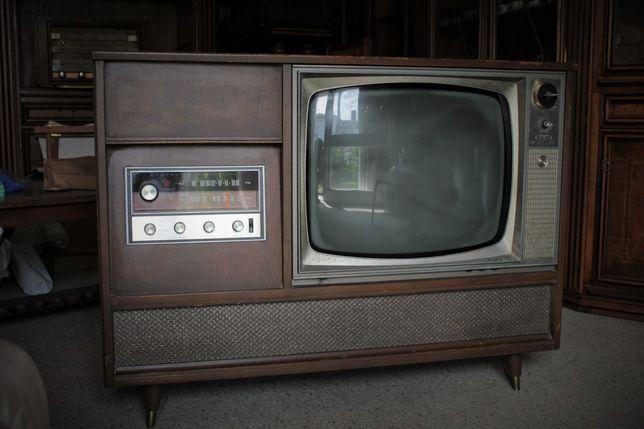Móvel TV/rádio/gira-discos ADMIRAL (para decoração ou restauro)