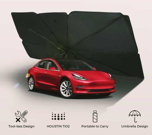 Автомобильный солнцезащитный зонт.