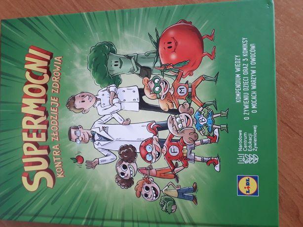Książka Supermocni - kompendium wiedzy o żywieniu dzieci LIDL