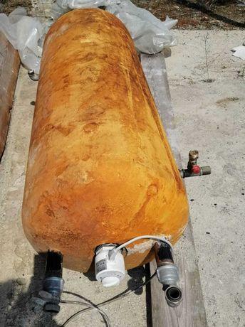 Bojler elektryczny 150 litrów z możliwością grzania z pieca