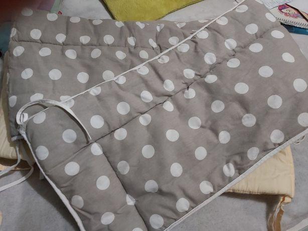 Ochraniacze na łóżeczko 180×30