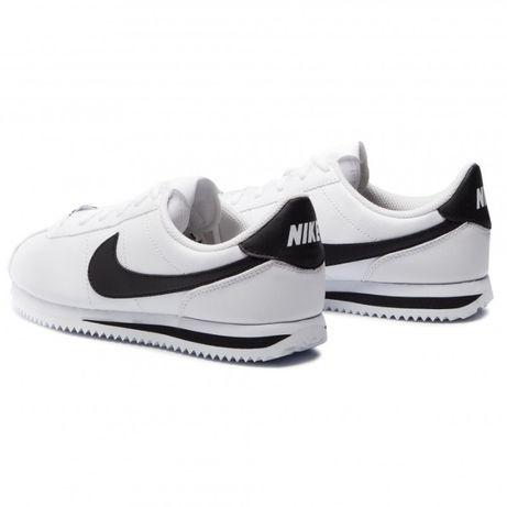 Nike Cortez. Rozmiar 44. kolor Biały z czarnym. NAJTANIEJ!