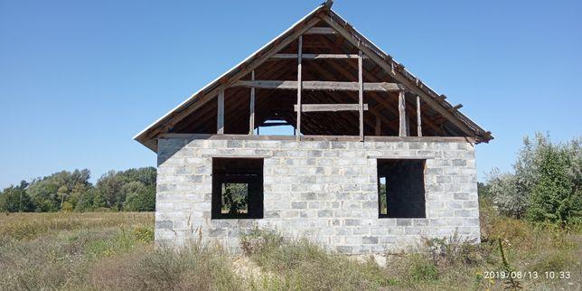 Продам недостроенный дом с. Валуйское