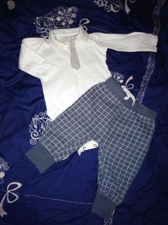 Komplet 68/74 koszula i spodnie