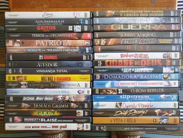 Super Pack 34 DVD Filmes Variados Impecáveis / 6x Novos/Selados