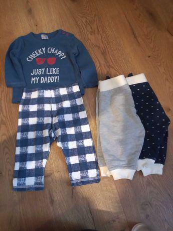 Spodenki, piżamka, zestaw