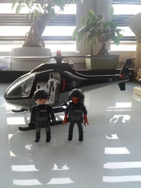 Playmobile helikopter policja