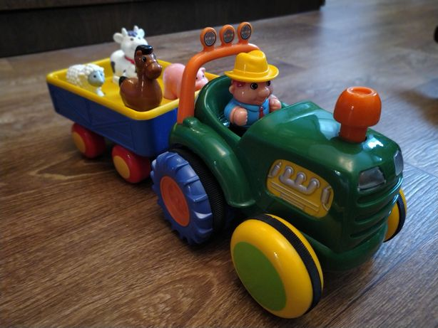 Трактор kiddieland ориг.