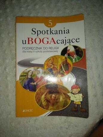 Spotkania u Boga podręcznik do religii klasa. 5