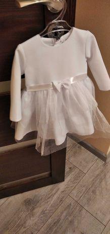 Ubranko dla dziewczynki do chrztu rozmiar 74