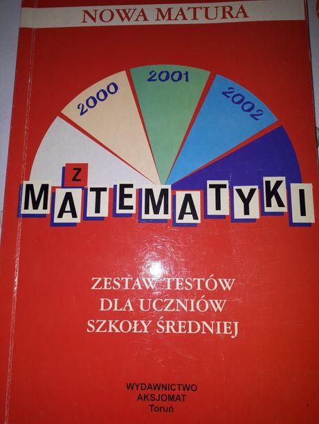 Matematyka - testy dla szkół średnich