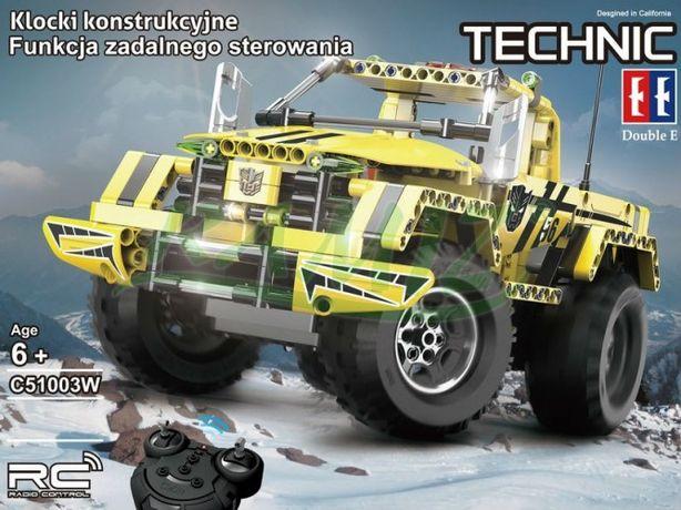 AUTO TERENOWE 2W1 klocki Cada Technic zdalnie sterowane (C51003W)