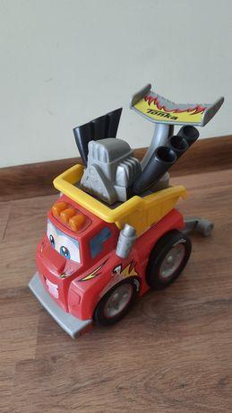 Детская машинка со звуковым эффектом Чак-гонщик Tonka Hasbro