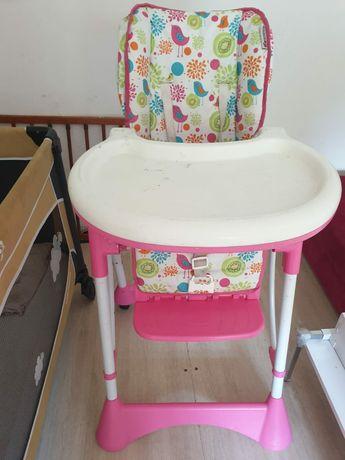 Krzeselko trzypoziomowe odchylane dla dziecka