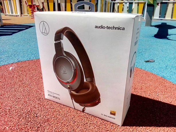 Auscultadores Audio-Technica ATH-MSR7b Hi-Res Audio (Classe Premium)