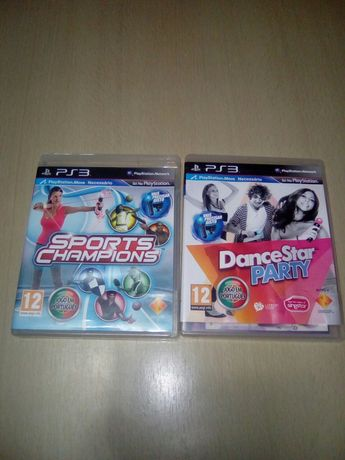 Jogos PlayStation 3 Sports Champions e Dance Party