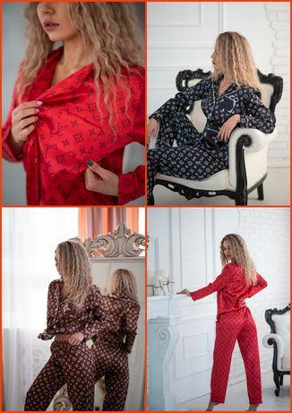 Костюм домашний/Комплект женский двойка/Пижама Louis Vuitton/Луи Витон