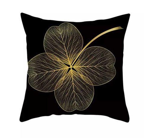 4 poszewki na jaśka - złoty kwiat
