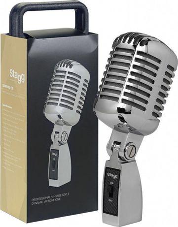 Microfone dinâmico STAGG SDM100 CR