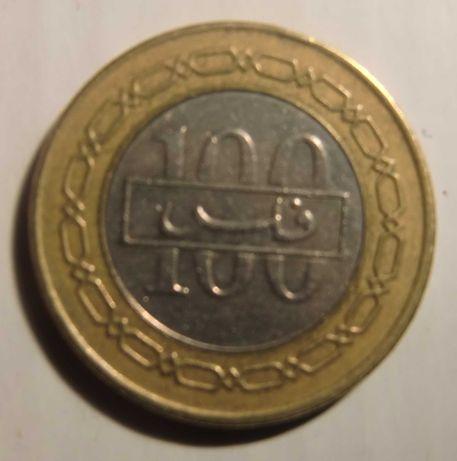 Moeda 100 dinares Bahrein