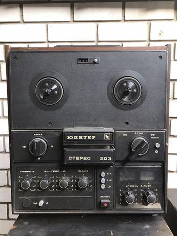 Продам магнитофон бабинник Юпитер 203
