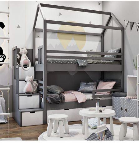 кровать двухъярусная Элис 2, двоповерхове ліжко, двухярусная кровать