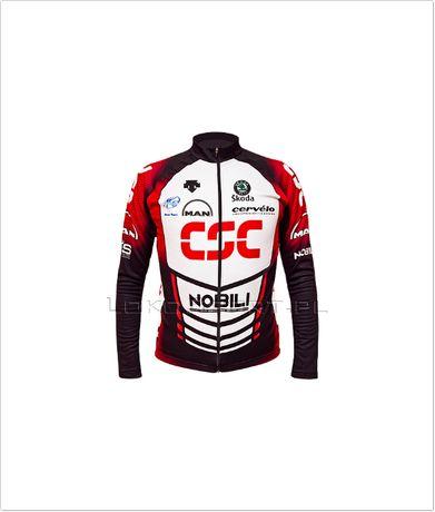 Ocieplana bluza kolarska CSC, rozmiary od S do 4XL