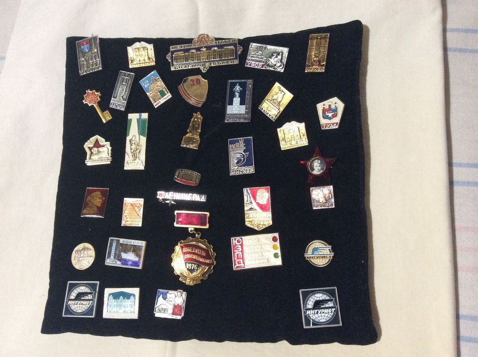 Коллекция значков времён ССОР Запорожье - изображение 1