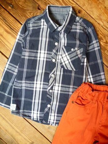 Рубашка Next на 3-4 лет состояние новой