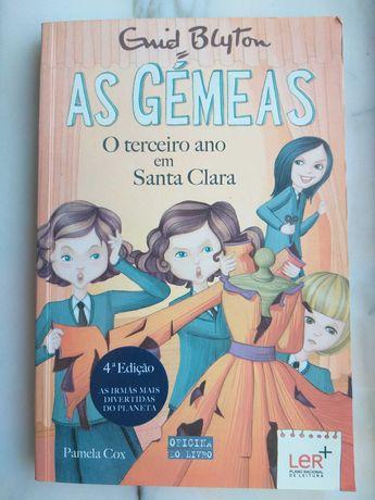 """3 livros da colecção """"As Gémeas"""""""