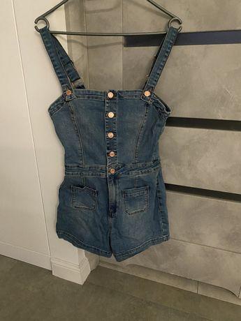 Guess kombinezon jeans rozm S