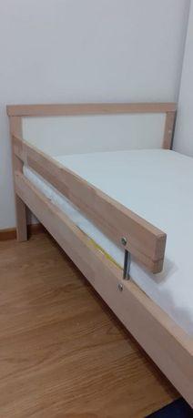 Łóżko dziecięce IKEA SNIGLAR + materac + BALDACHIM Stan BDB