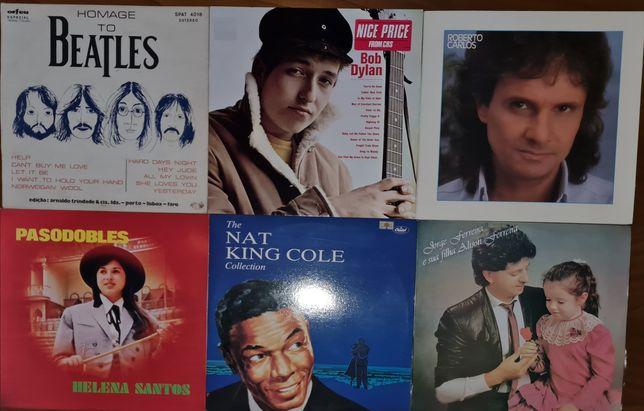 Lote de discos de vinil vários (individual)